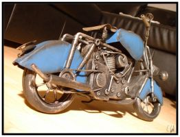 Triumph Bike Modell Session 06 by jumomo