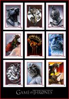 GAME OF THRONES S2 Sketch Cards by S-von-P