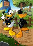 Donald and Daffy by PANDE1987