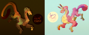 Spring and Fall Lyrikit Auction [CLOSED] by zooque