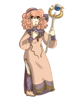 FE Heroines Collab: Genny by Shionshetrr