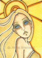 Solara ACEO by NoraBlansett