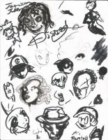 Dre Day Sketches 51 by Dreballin3x