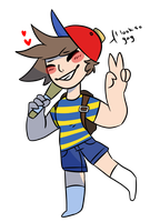.:Ness Cosplay:. by qhostiiie