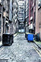 Glasgow: Empty Alley II by basseca