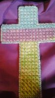 Pastel Cross by shushucraft