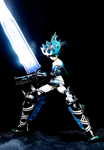 Black Rock Shooter Blade by Solastyre