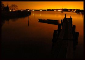 Nighttime in Annapolis by seafaringgypsy