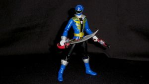 SH Figuarts GokaiBlue 2 by LinearRanger