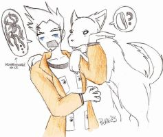Sniffing Butz by ryokage
