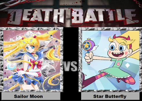 Death Battle Idea 1: Sailor Moon vs Star Butterfly by BurningKikoken