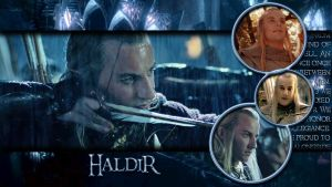 New Haldir by Coley-sXe