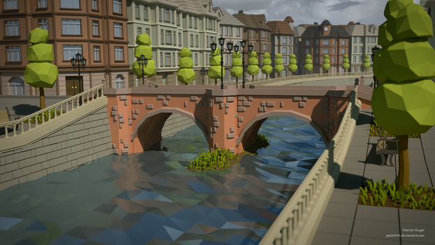 Stonebridge (LowPoly) by pat2494