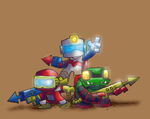 Dig Dug: Six Feet Under by Hologramzx