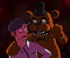 Five night at Freddy's by dalsegno2525