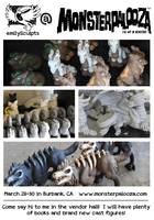 emilySculpts at Monsterpalooza, This Weekend! by emilySculpts
