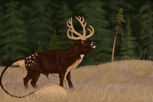 Marja | Stag | Glenmore Royal Guard by OneMadHatter