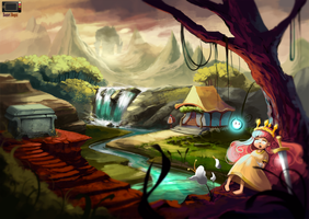 Fanart - Child of Light by danielbogni