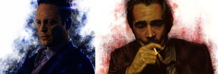 True Detective - Ray and Frank by p1xer