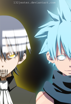 Kid And Black Star by 132Jester