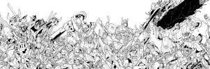 MTMTE RID 50 cover lineart by markerguru
