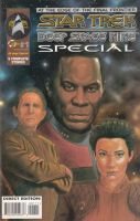 Star trek DS9 Comic Cover by ssava