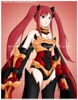 Flame Empress - Erza by Xeylen