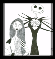Jack and Sally by TheDisappearingGirl