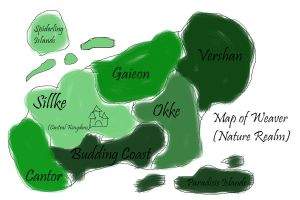 Map of Weaver (Nature Realm) by Darkbullfrog