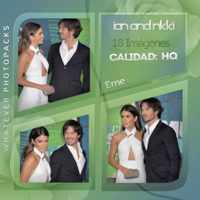 Photopack 0568 - Ian Somerhalder and Nikki Reed by WhateverPhotopackss
