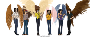 ANGELS AND DEMONS PROBABLY by kateppi