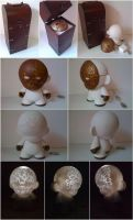 Custom Munny for ToyMastah by pottstarr