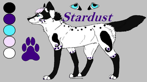Stardust ref by aquaheartthecat