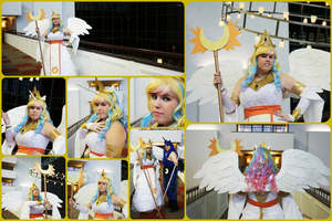 My Cosplay_Princess Celestia by MevrouwRoze