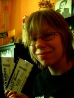 Slayer.Megadeth tickets by Red-Szajn