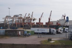 dry cargo vessel Brother Glory at Tilbury Docks by Greattie