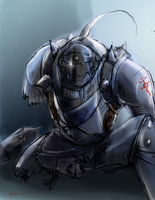 Alphonse Trashed by chichiwiya