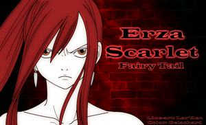 Erza Scarlet by Gelachard