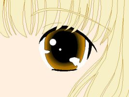 Chii - Human Eye by clampfan101