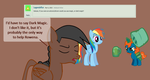 Ask Salazar and the Lifters#2-Magic or Dark Magic by MLP-Element
