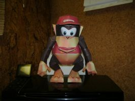 Papercraft Diddy Kong 1 by Esteban1988