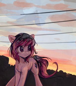 wires (birthday gift) by mirroredsea