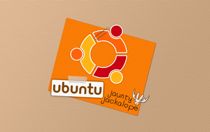 Ubuntu Jaunty Wallpaper by d0od