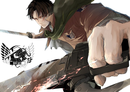 Rivaille #9 By Bream by Yuu-Kami
