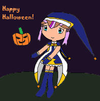 Happy Halloween From Amanda! by Romance-Bunny