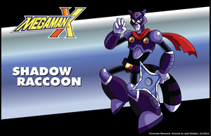 MMX Fan Maverick - Shadow Raccoon by justicefrog