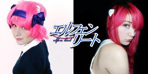 Nana and Lucy - Elfen Lied Cos by SailorMappy