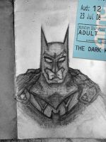 The Dark Knight: Doodle by Canada-Guy-Eh