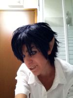 Rin Okumura istant cosplay by Linebeckart