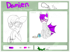 Damien the Finnedyr by Pi-xie